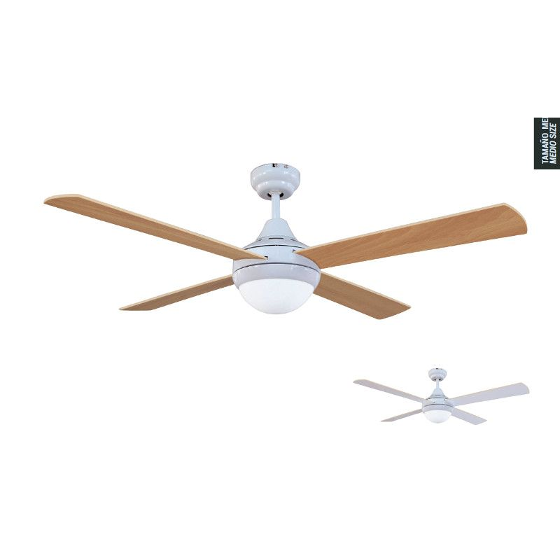 Ceiling Light Crossbar : Ceiling fan with light cross white sulion l?mparas de