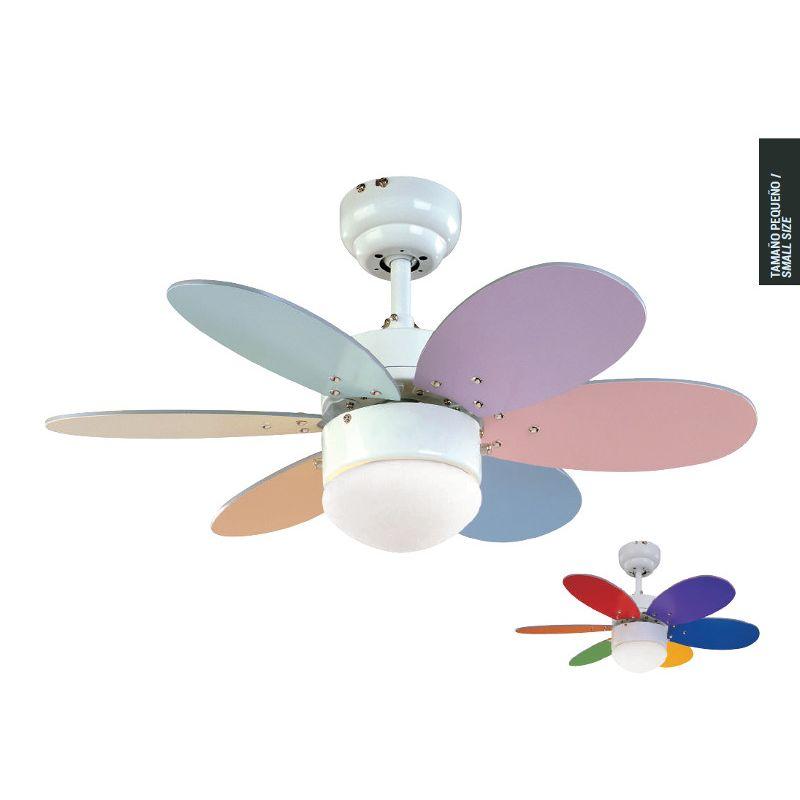 Rainbow colored ceiling fan ceiling fan ideas design modern ceiling fans aloadofball Image collections