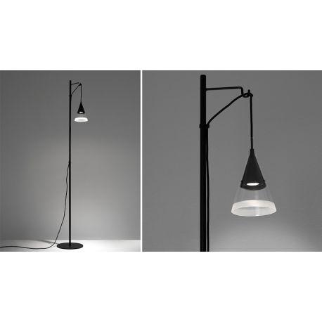 Floor lamp vigo reading floor artemide mozeypictures Image collections