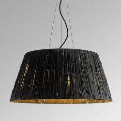 Suspension Lamp SHOELACES T GR Metalarte