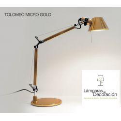 Table Lamp TOLOMEO MICRO GOLD Artemide
