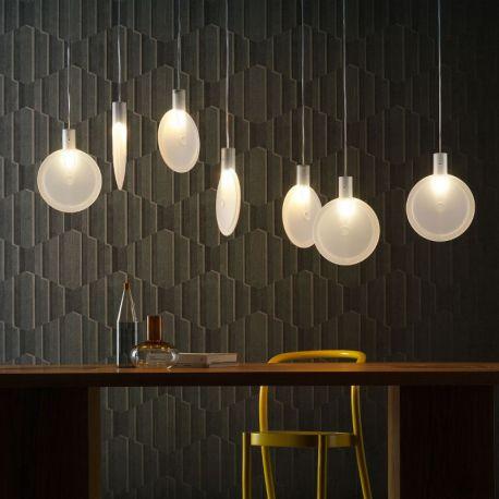 Led Suspension Lamp NEBRA Fontana Arte