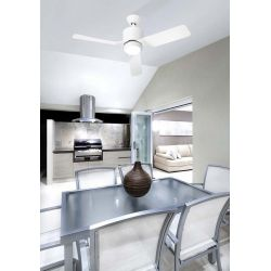 celing fan with led light vera leds c4