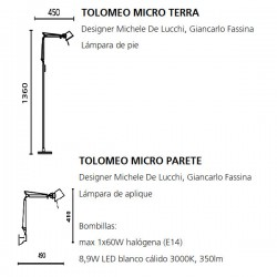 TOLOMEO MICRO Artemide (Only Body)