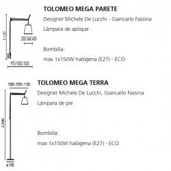 TOLOMEO MEGA Artemide (Only Body)