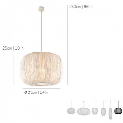 Lámpara de Suspensión CORAL Arturo Alvarez COSE04