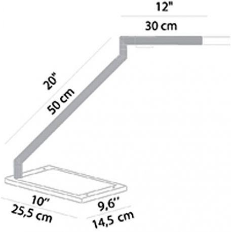 Table Base for BAP LED Luceplan