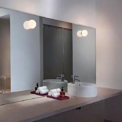 Lámpara Aplique MINI GLO-BALL C/W Flos (para montaje en espejo)