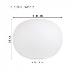 Table Lamp GLO-BALL BASIC 2 Flos