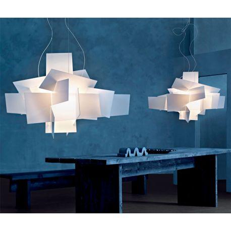 suspension lamp big bang foscarini. Black Bedroom Furniture Sets. Home Design Ideas