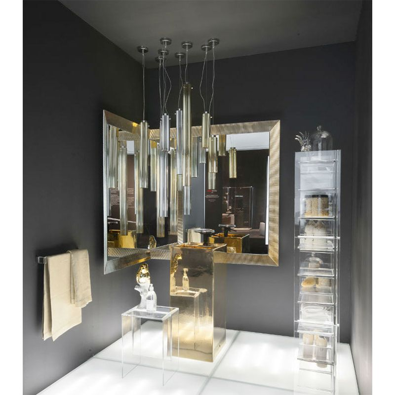 Led suspension lamp rifly kartell by laufen l mparas de for Decoration kartell