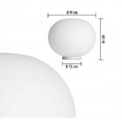 Table lamp GLO-BALL T by Flos