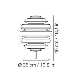 Lámpara de Mesa HONEYMOON L Kundalini
