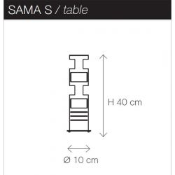 Lámpara de Mesa SAMA Kundalini