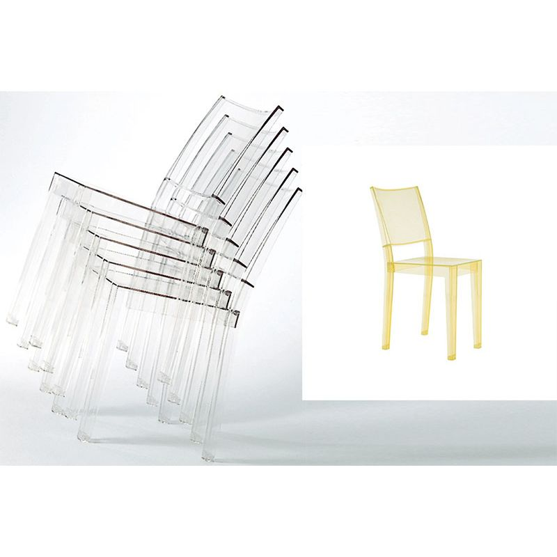 Stunning la marie kartell contemporary for Chaise kartell transparente