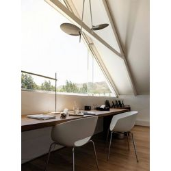 Led Ceiling Lamp LEDERAM C2 Catellani & Smith