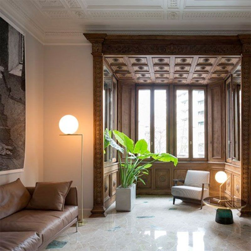 Floor lamp ic f1 f2 flos l mparas de decoraci n for Decoration f2
