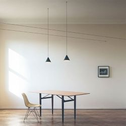 Led Suspension Lamp STRING LIGHT CONE Flos