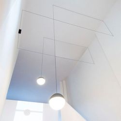 Led Suspension Lamp STRING LIGHT SPHERE Flos