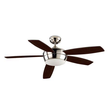 Ventilador con luz samal leds c4 - Lamparas de techo con ventilador ...