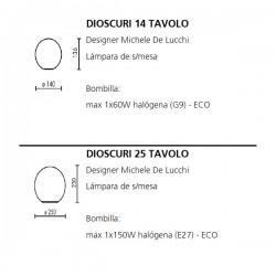 Table Lamp DIOSCURI 14 Artemide