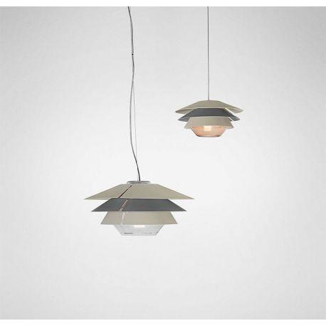 Suspension Lamp OVERLAY T Blux