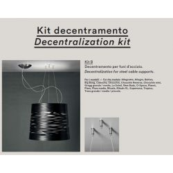 KIT DESCENTRALIZACIÓN B para Lámparas Foscarini