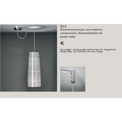 DECENTRALIZATION KIT C for Foscarini Lamps