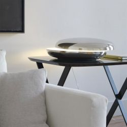 Table / Floor Lamp LOOP Fontana Arte
