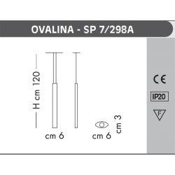 Suspensión Led OVALINA Sillux
