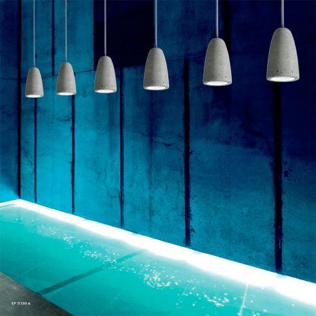 Led Suspension Lamp FORATA Sillux