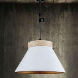 Lámpara Suspensión LEGNO Fokobu