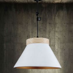 Suspension Lamp LEGNO Fokobu
