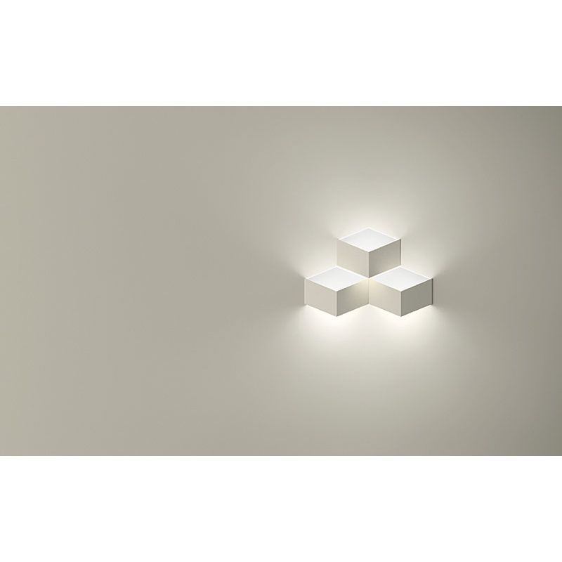 Wall Mounted Folding Lamp : Wall Lamp FOLD SURFACE 3 LED Vibia - Lamparas de Decoracion