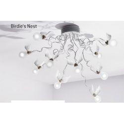 Suspension Lamp BIRDIE`S NEST Ingo Maurer