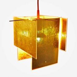 Suspension Lamp 24 KARAT BLAU Ingo Maurer