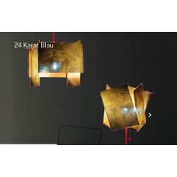 Suspension Lamp 24 KARAT BLAU Ingo Maurer