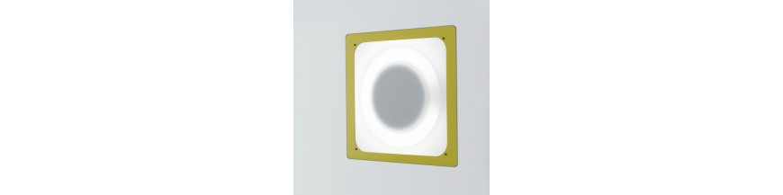 recessed design wall lamps