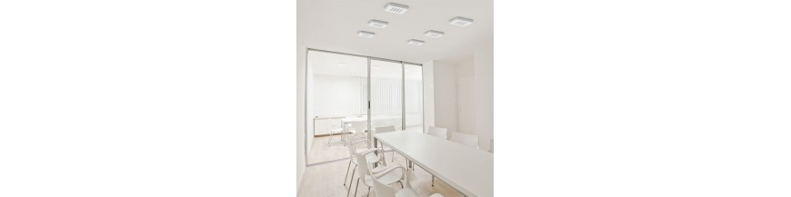 lamparas de plafon led de diseño