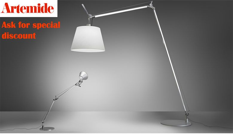 ask for our special prices in all artemide items